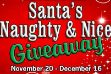 Santa's Naughty and Nice Giveaway