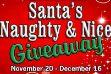 Santa's Naughty and Nice Giveaway